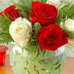 Làm sao để cắm hoa kết hợp đẹp với bình?