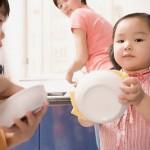 Cách giao việc nhà cho con thật hiệu quả