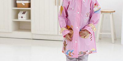 Áo mưa thời trang bé trai và gái