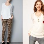 Cách phối đồ len trắng cho hợp thời trang