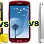 Cùng lên cân iPhone 5 – Galaxy S3 – Lumia 920
