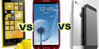 Cùng lên cân iPhone 5 - Galaxy S3 - Lumia 920