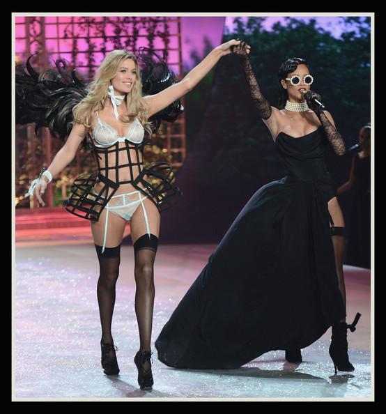 Doutzen Kroes và Rihanna