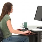 Giữ sức khỏe cho người ngồi trước máy tính