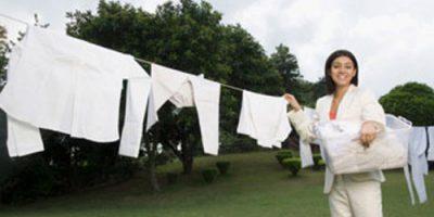 Những rắc rối khi giặt đồ và biện pháp khắc phục