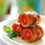 Cùng cả nhà thưởng thức món thịt ba chỉ cuộn cà chua bi