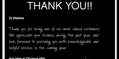 Quản trị doanh nghiệp - Bạn đã cảm ơn khách hàng chưa
