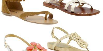 Chọn sandal hợp thời trang cho đôi chân bạn
