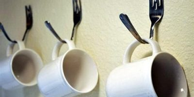Trang trí nhà bếp bằng nĩa ăn