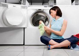 Xoá tan mùi hôi máy giặt