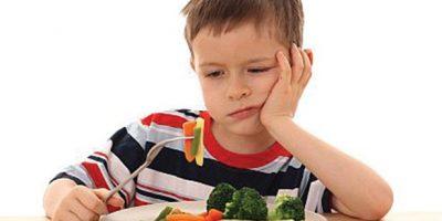 Trẻ biếng ăn - mẹ nên xem lại thực đơn