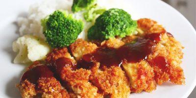 Rán thịt gà kiểu Nhật giòn rụm vàng ươm