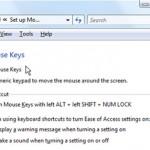 Dùng phím tắt thay thế chuột khi bàn phím hỏng