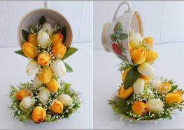 Mách bạn cách cắm hoa đẹp và độc đáo cho bàn tiệc