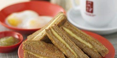 Bánh kaya toast Singapore