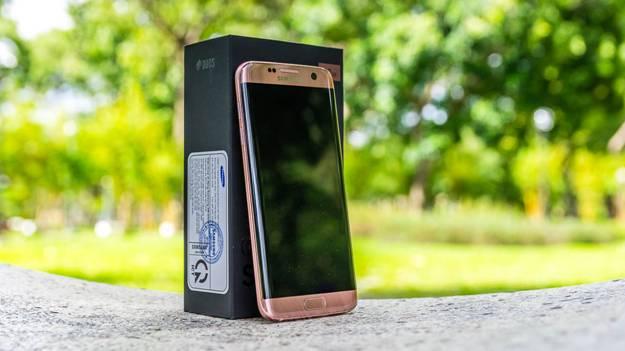 Samsung galaxy S7 Edge quyến rũ