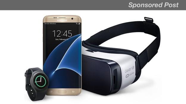 S7 sánh đôi cùng Samsung Gear VR
