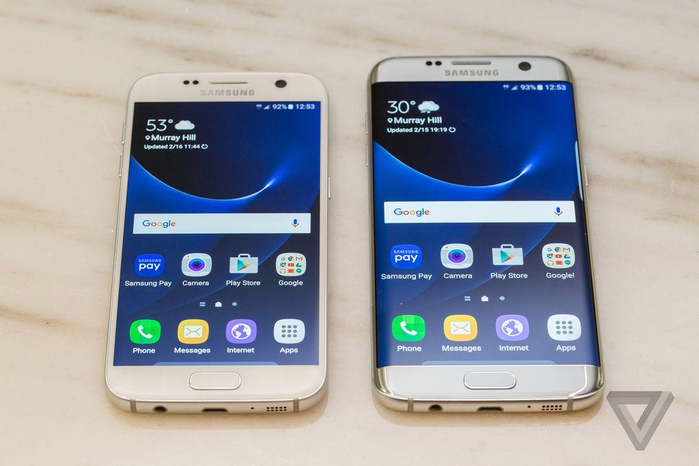 Bộ đôi Galaxy S7 và Galaxy S7 Edge khiến doanh thu Samsung tang cao trong Q1/2016