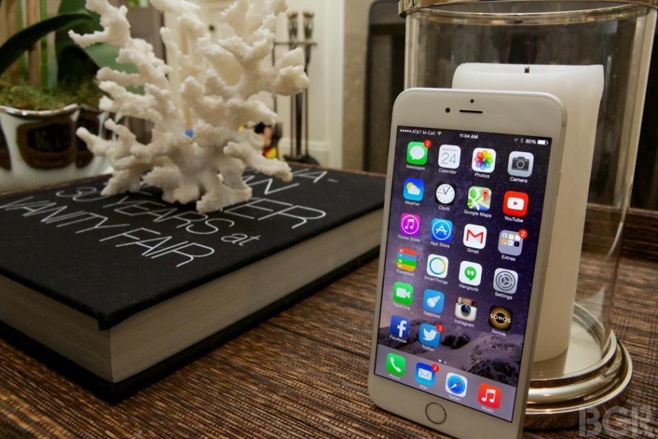 Thực hiện mọi  hoạt động trên iPhone 6 Plus rất tuyệt vời