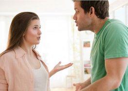 Cách xử lí khi có sự tranh cãi giữa hai vợ chồng