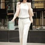 Những kết hợp tuyệt chiêu cho quần trắng