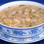 Súp cua nấm linh chi