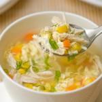 Để nấu súp gà thơm ngon
