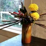 5 cánh cắm hoa cúc để bàn