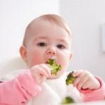 Hãy cho con ăn rau từ trong bụng mẹ