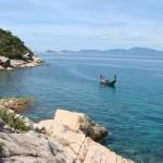 Biển Ninh CHữ hoang sơ mời gọi