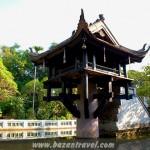 chùa Một Cột Hà Nội- Ngôi chùa độc đáo của Việt Nam